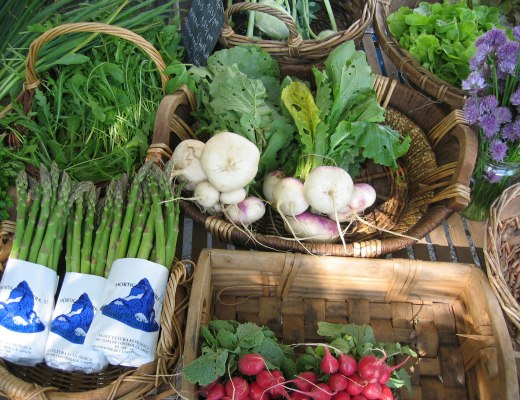 Local, organic produce is often the best bet for cost-effective organic food for your family.