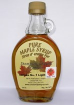 Sirope de Maple Puro- 250mL, Vidrio