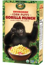 Cereal Maíz Bolitas Crujientes, Gorilla Munch-248gr