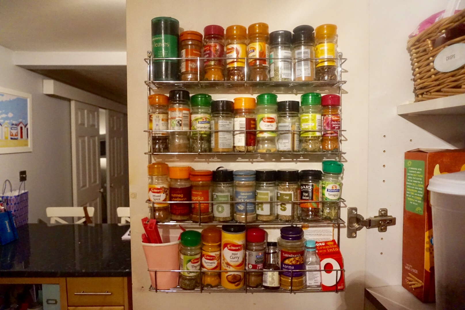 How To Organise The Kitchen Food Cupboards Organised Jo