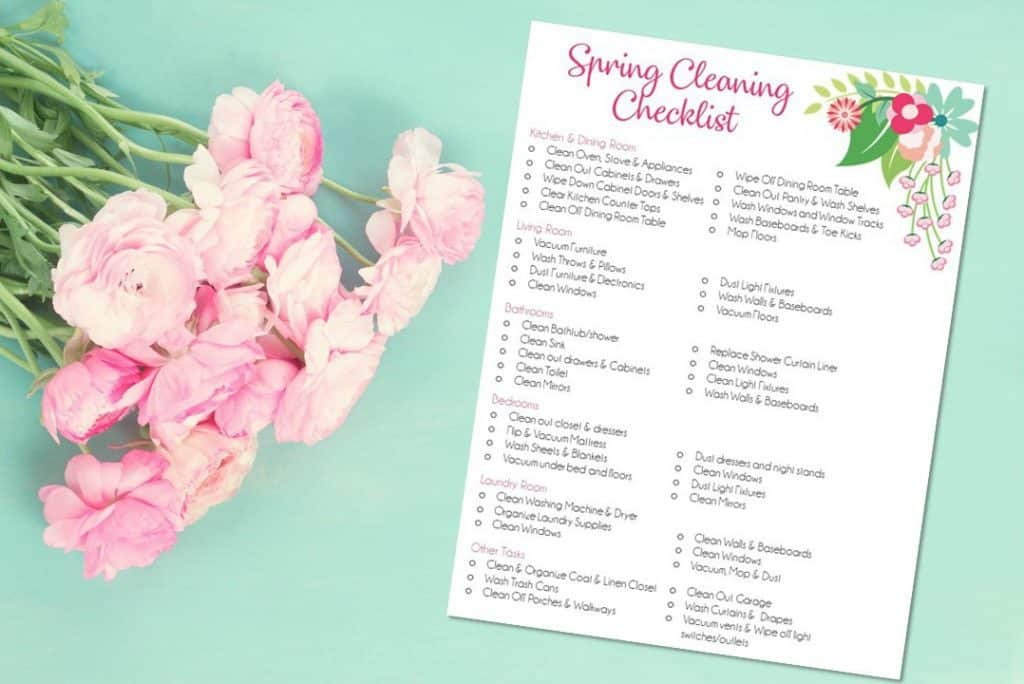 The Ultimate Spring Cleaning Checklist - Organization Obsessed