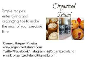 Organized Island Business Card