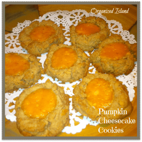 Pumpking-Cheesecake-Cookies