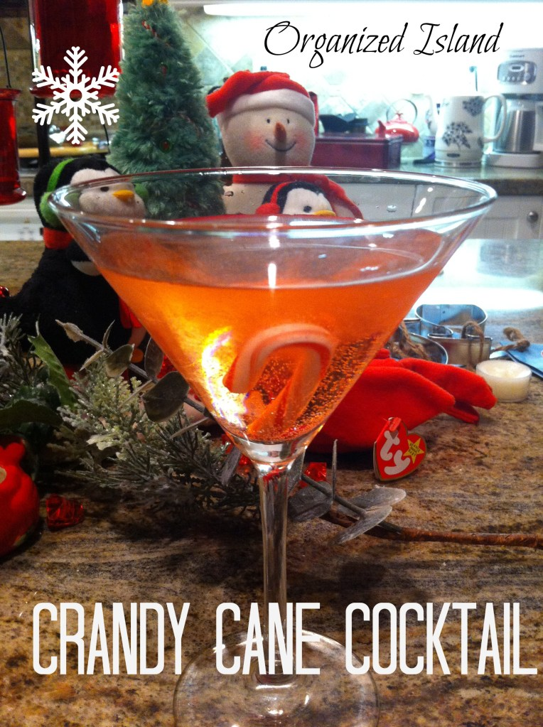 Crandy Cane Cocktail