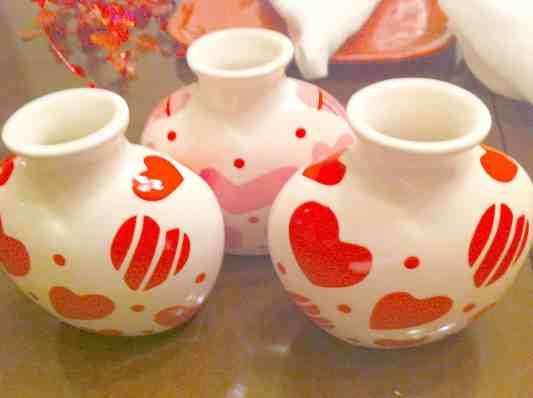 Dollar store crafts, cheap valentines crafts