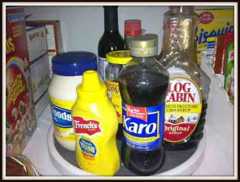 condiment organization, #organize