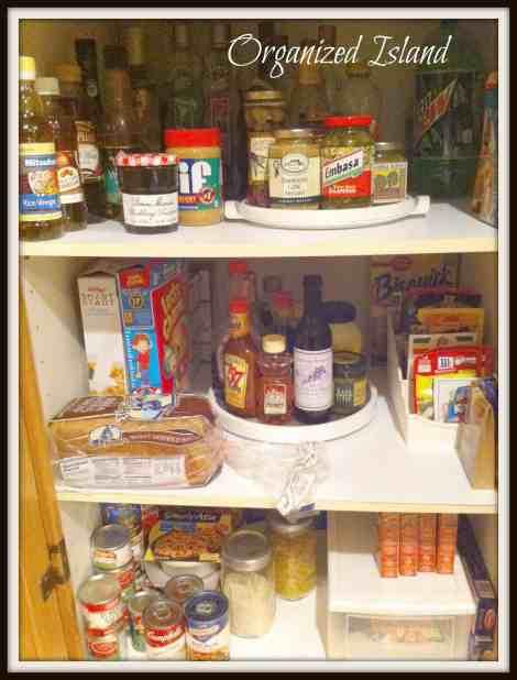 Organized pantry #organization