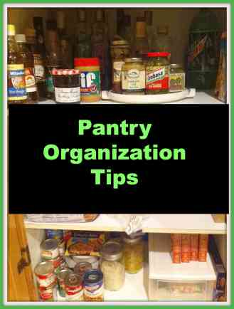 Tips to #organize your #kitchen pantry