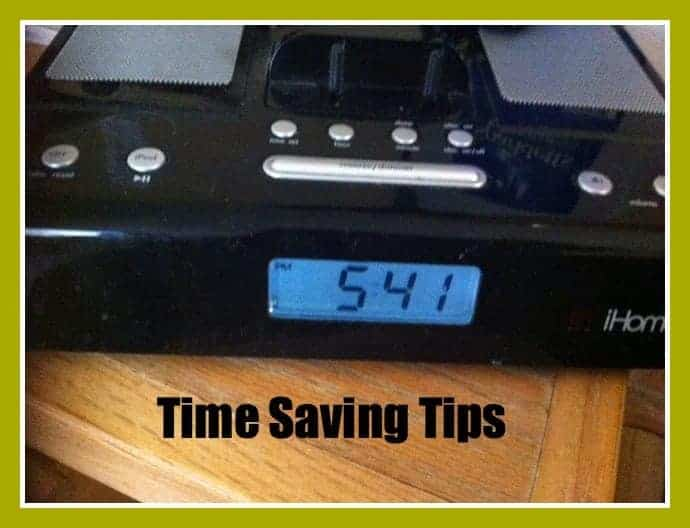 TIme Saving Tips #timemanagement