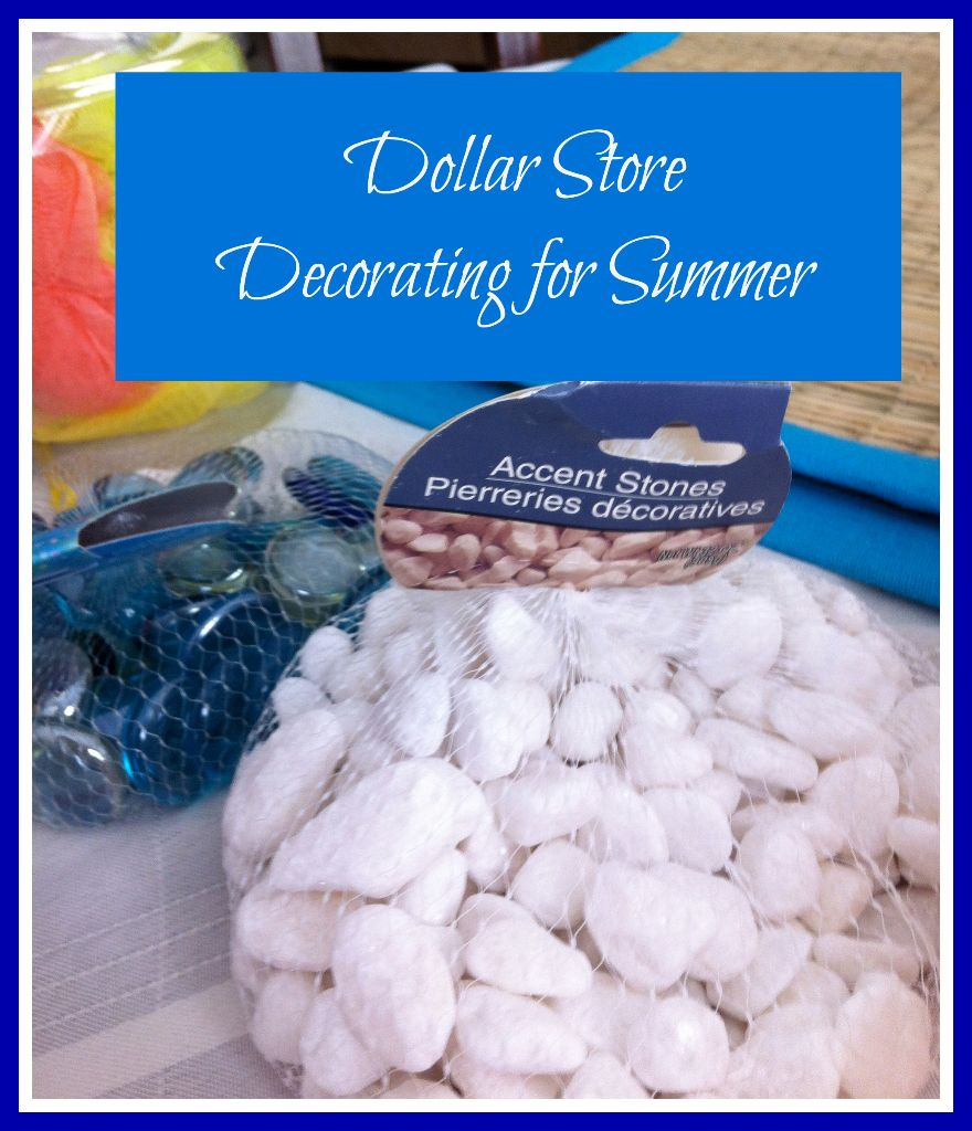 Dollar Store Decorating Summer