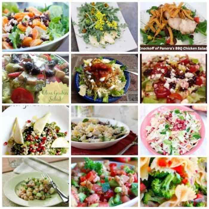 Salad Round Up