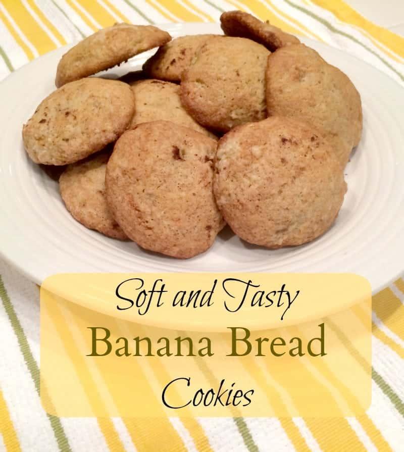 Easy Recipe for Banana Bread Cookies - Tastes just like banana bread ...