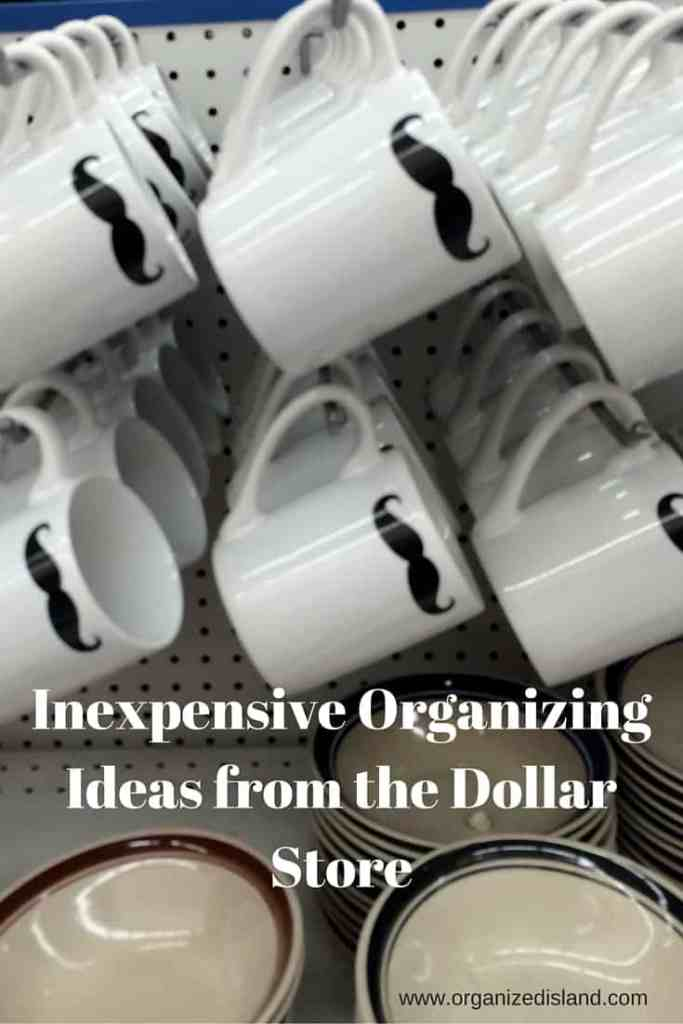 Some great items that can help you organize from your neighborhood dollar store. Storage containers really can be inexpensive!