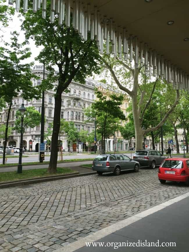 Ritz Carlton hotel is on the Ringstrasse
