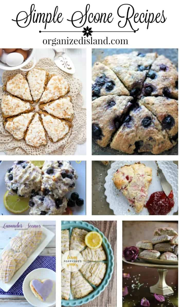 Sweet Simple Scones Recipes