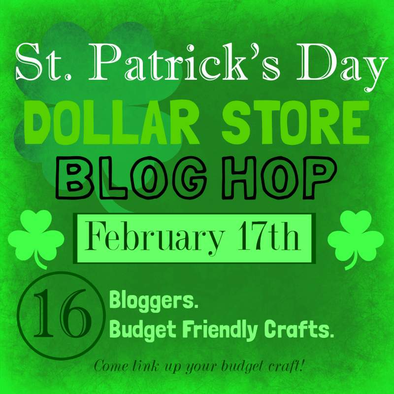 St' Patricks Day Dollar Store Craft Ideas! You can make these fun and festive items with dollar store supplies!