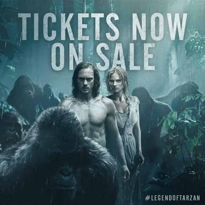 Legend of Tarzan Movie