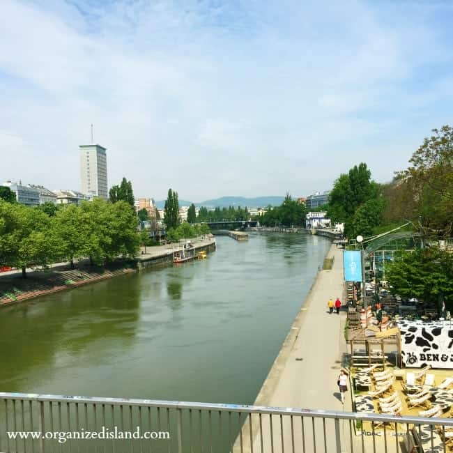 The city of Vienna offers great views of the Danube