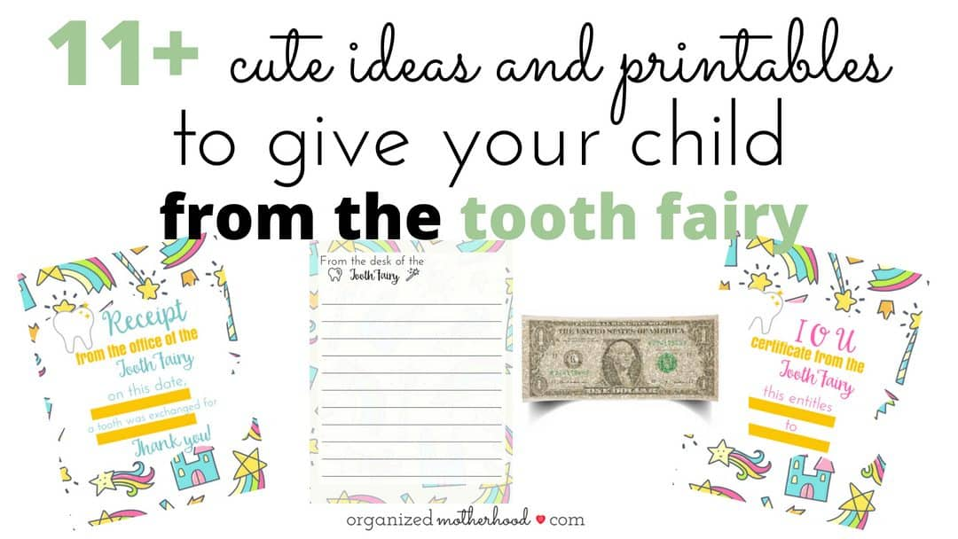 11+ Cute Ways to Delight Your Child From the Tooth Fairy