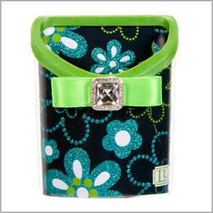 magnetic locker bin green