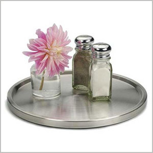 lazy susan stainless steel
