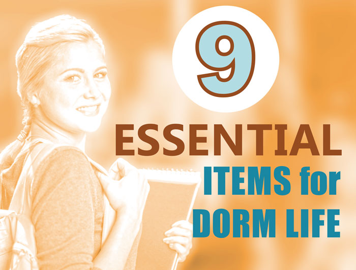 9 essential dorm must haves