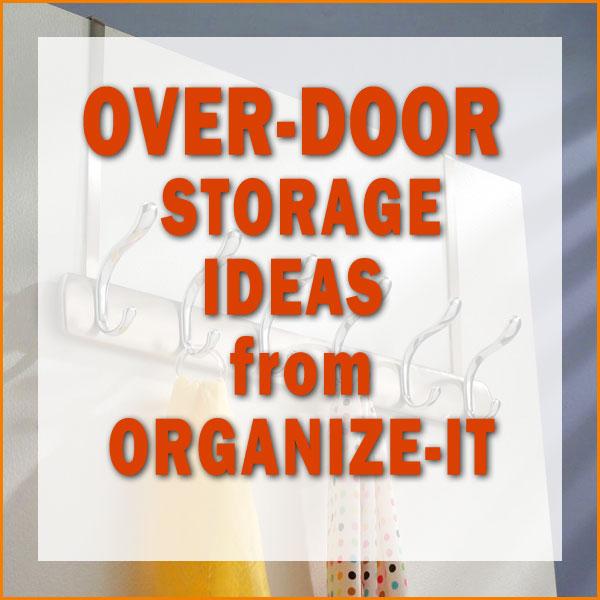 Over-Door Storage Ideas