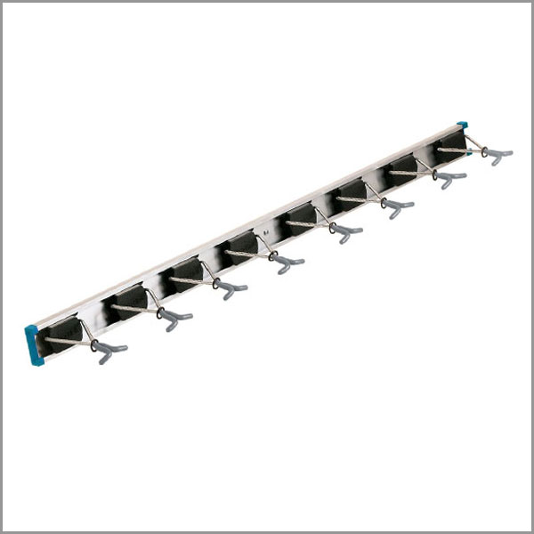 36 inch wall tool rack