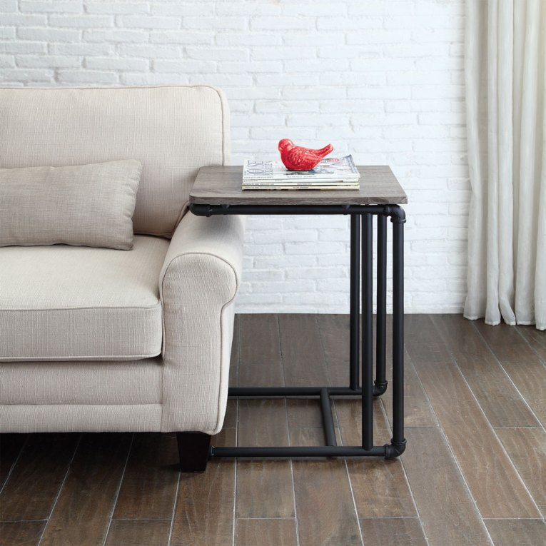 Industiral Pipe Furniture Side Table
