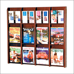 magazine rack wall