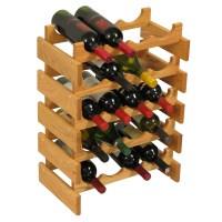 Wood Wine Rack - 20 Bottle in Wine Racks