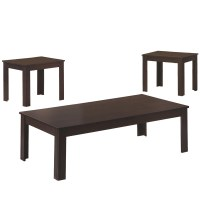 3 Piece Occasional Table Set in Coffee Tables