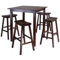 5-Piece Pub Table Dining Set in Bar Table Sets