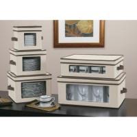 Vision Canvas Dinner Plate Storage Box in China Storage