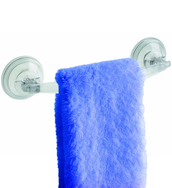 Powerlock Suction Towel Holder In Suction Organizers