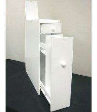 Toilet Paper Storage Cabinet - White in Toilet Paper Storage