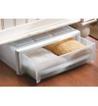 Plastic Under Bed Storage Drawer - Clear in Storage Drawers