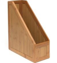 Bamboo Magazine Holder in Magazine Storage Boxes
