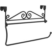 Cabinet Mounted Paper Towel Holder - Black in Paper Towel ...