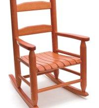 Childrens Rocking Chair - Cherry in Kids Furniture