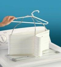Clothing Hanger Storage Rack in Hanger Organizers