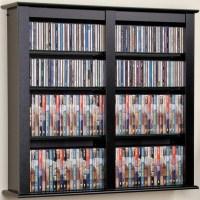 freedomRail Over the Door DVD Rack in Over the Door Organizers