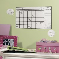 Dry Erase Calendar - Wall Decal (Set of 7) in Dry Erase Boards
