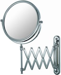 Extendable Wall Mirror - Chrome in Wall Mirrors