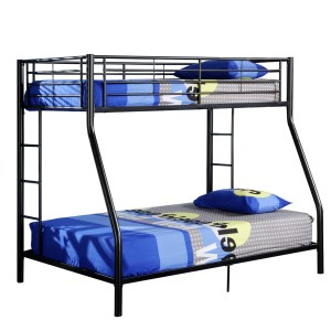 Fashionable Mattresses Included Premium Metal Twin Over Full Bunk Bed Image Premium Metal Twin Over Full Bunk Bed Bunk Beds Twin Over Full Bunk Beds Desk Twin Over Full Bunk Beds