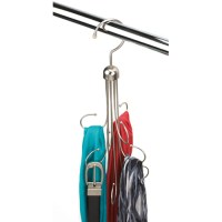 Hanging Belt and Tie Organizer in Tie and Belt Hangers