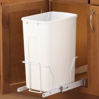 Pull-Out Cabinet Trash Can - 35 Quart in Cabinet Trash Cans