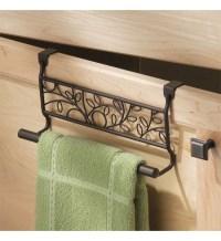 Twigz Kitchen Towel Holder - Bronze in Kitchen Towel Holders