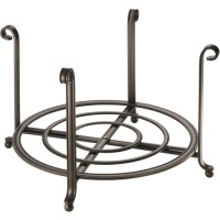 Large Serving Stand and Plate Holder - Bronze in Plate Holders