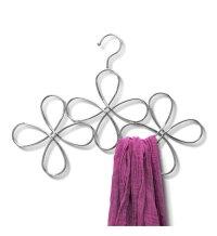 Metal Scarf Hanger - Flower Design in Scarf Hangers